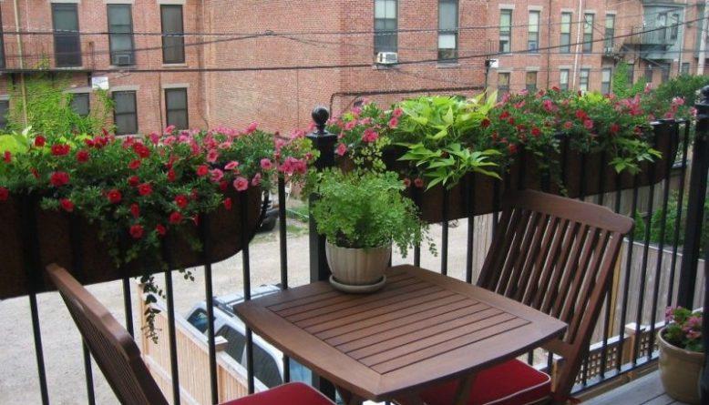 balcony planter ideas