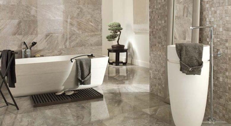 29+ Beautiful Bathroom Floor Design | Best Option For 2019 ...