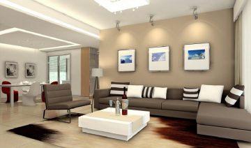 luxury Minimalist Living Room